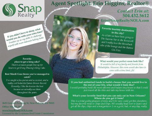 Agent Spotlight: Erin Higgins
